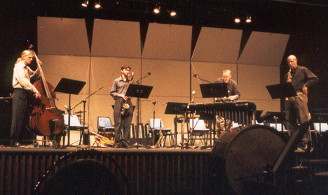 photo of Return to One performance in Smith Recital Hall
